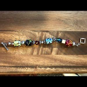 Silpada Lampwork Beaded Bracelet